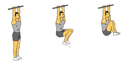 Add the knee raise and leg raise progressions to your workout and ...